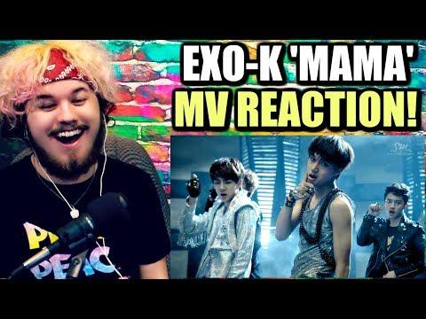 EXO-K 엑소케이 'MAMA' MV (Korean ver.) | DID NOT EXPECT THIS! | REACTION!!