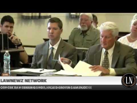 Ray Tensing Retrial Day 5 CSI Martin Odom Testifies 06/14/17