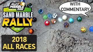 Marble Race: Sand Marble Rally 2018 - All Events!