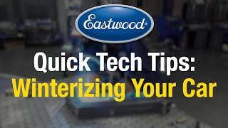 Quick Tips: Winterizing Your Car Check List - Eastwood