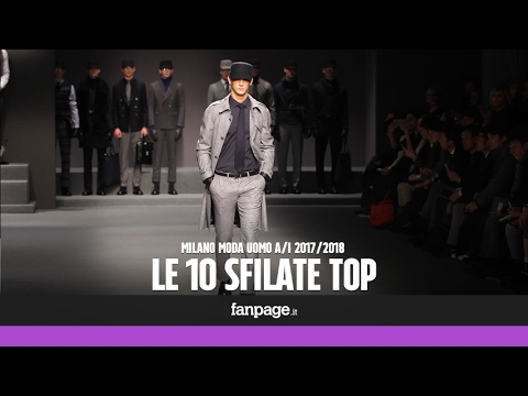 Milano Moda Uomo, le 10 sfilate top Autunno/Inverno 17/18