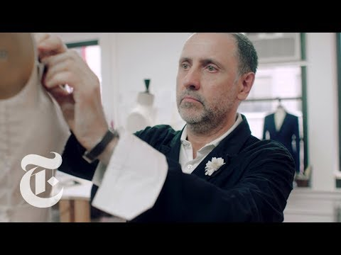 Meet The Man Who Dresses Melania Trump | In the Studio