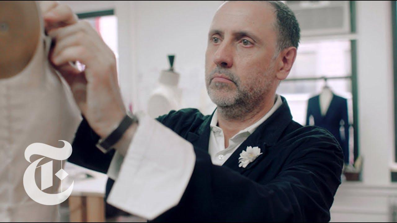 Meet The Man Who Dresses Melania Trump   In the Studio