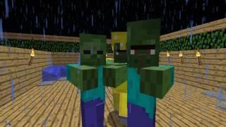 Зомби танцуют под мою песню xD