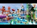 CartoonNetwork Amazone WaterPark Pattaya - Thailand 2017