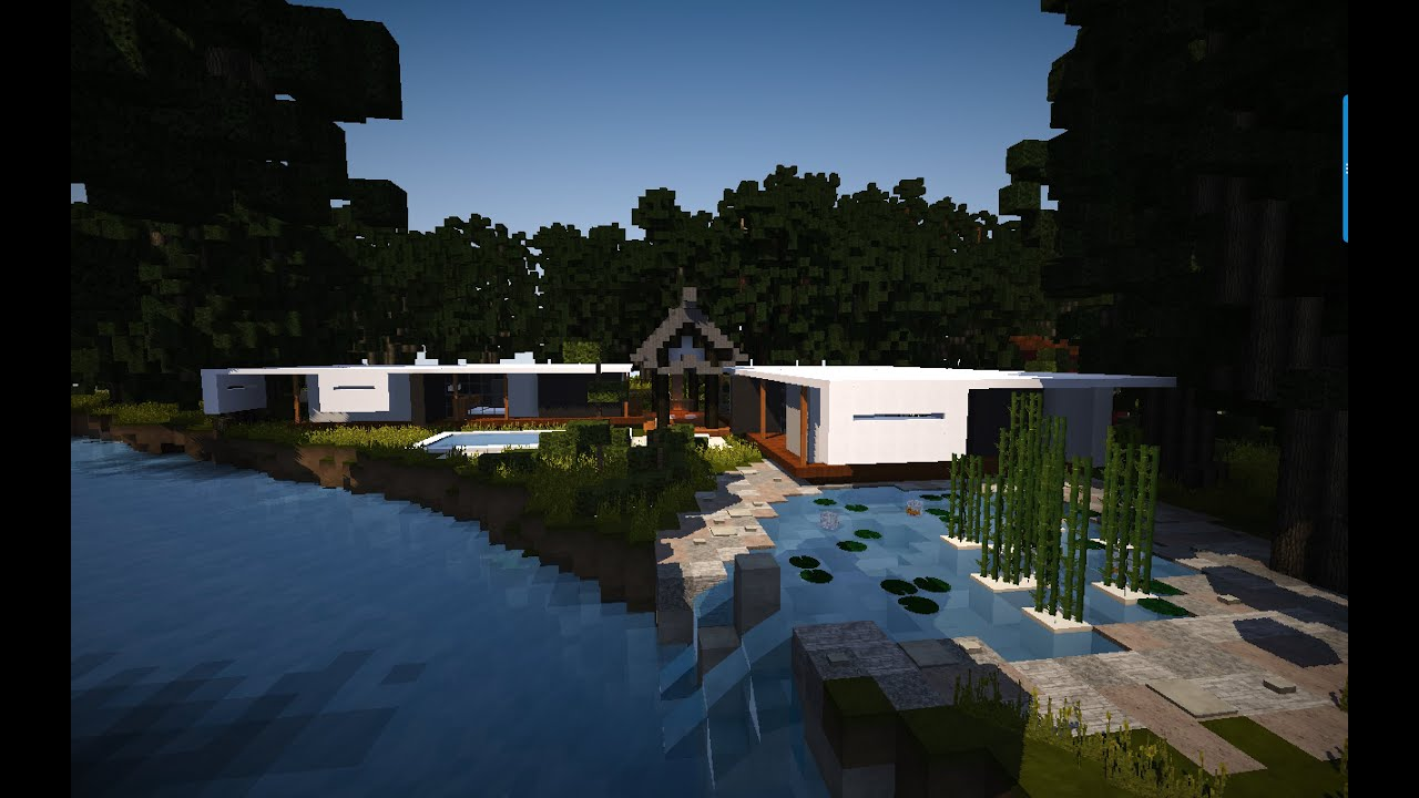 Minecraft Modern Asian House YouTube