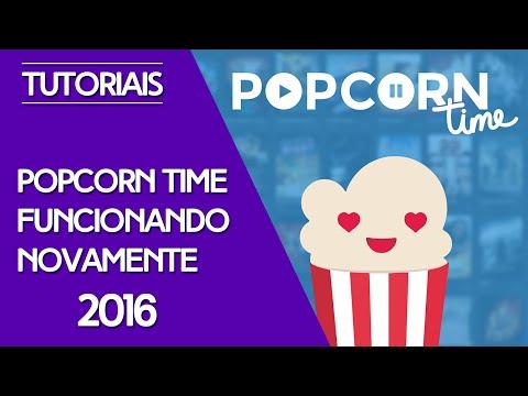 PopcornTime - Funcionando novamente! - 2016