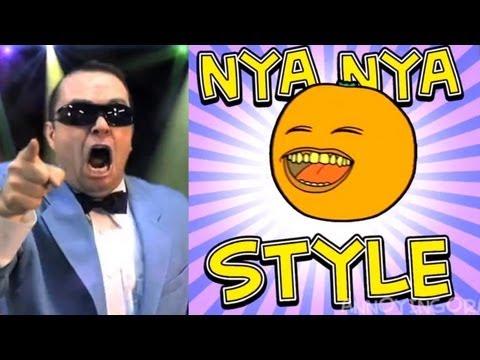Bobjenz On ORANGE NYA NYA STYLE (GANGNAM STYLE PARODY!)