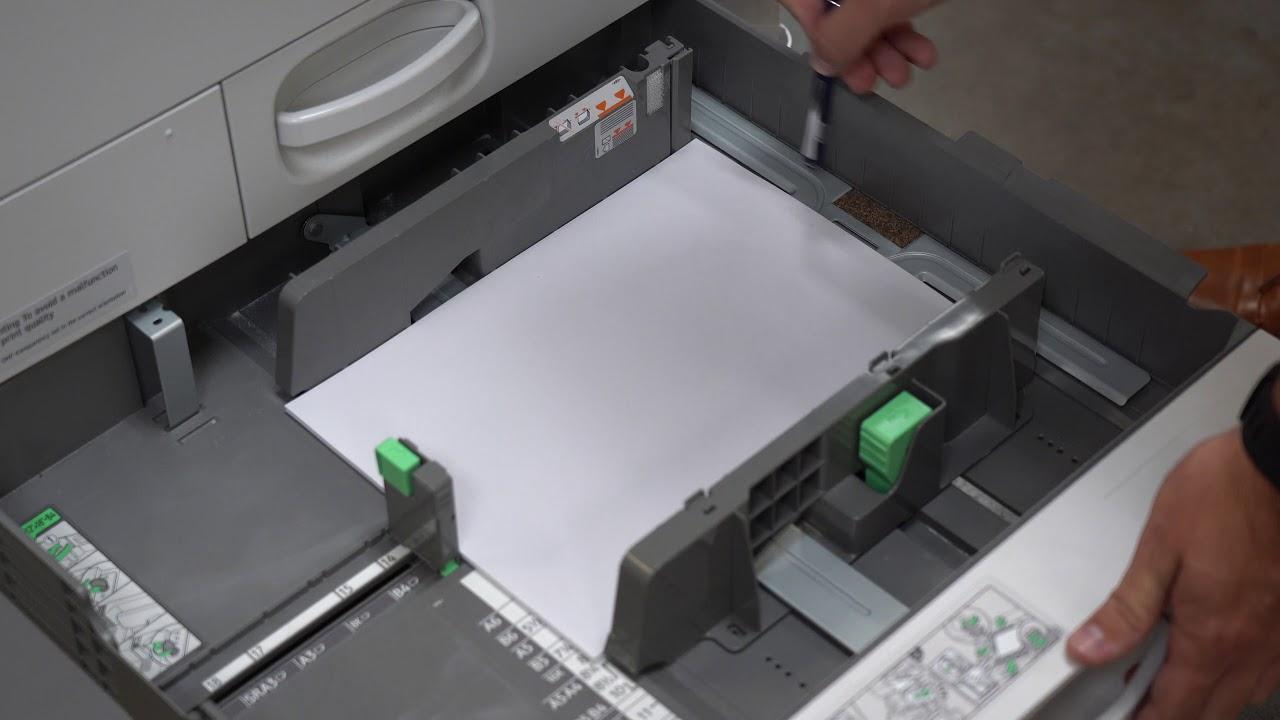 How to Fix a Paper Tray Misfeed/jam (Savin J004 Error)