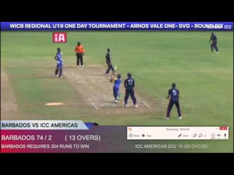 Rommel- WICB U 19 Tour with ICC Americas