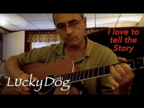I love to tell the story with Guitar chords