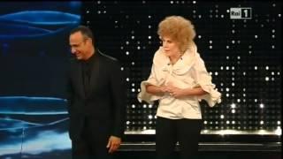 Sanremo 2015 - Ornella Vanoni (Virginia Raffaele) - Quarta serata 13/02/2015