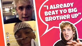 Jake Paul Receives Threat from Soulja Boy