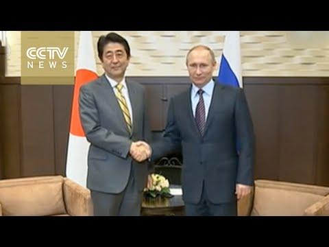 Shinzo Abe and Vladimir Putin to discuss territorial dispute
