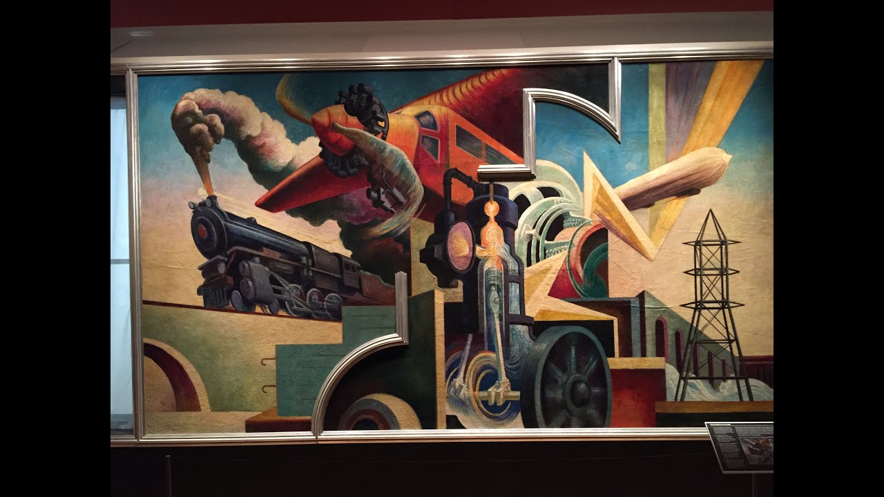 "Thomas Hart Benton ""America Today"" Mural Opens at the Met ... America Today"