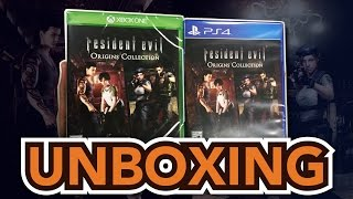 Resident Evil Origins Collection (Xbox One / PS4) Unboxing!!!