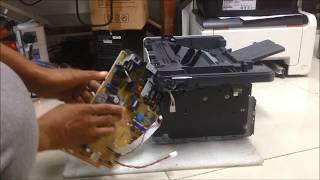 fix printer hp laser jet pro M26a no Power-electronic View
