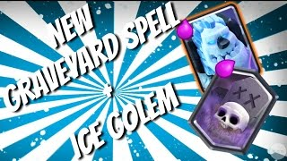 new graveyard spell and ice golem deck