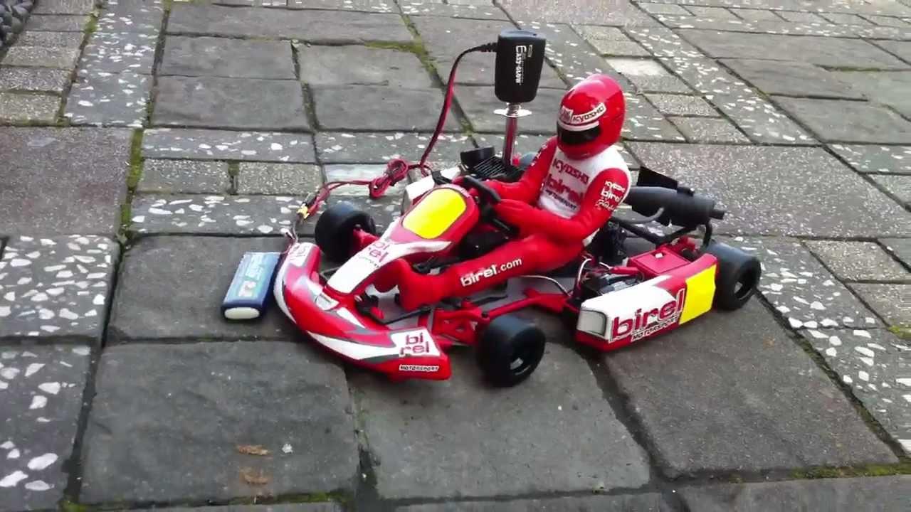 Kyosho Racing Kart Birel R31 SE RC Kart Engine Break In   YouTube