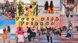 20 Best Friend Pose  Dea For  Nstagram How To Pose With Bestiesister Friends Pose MY CL CKS