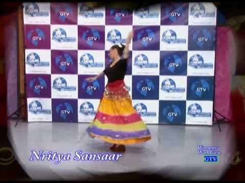 Sumona's Nritya Sansaar Fusion Semi-Classical Indian Dance to Hasi Ban Gayi