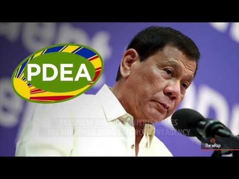 Duterte names PDEA as 'sole agency' for drug war
