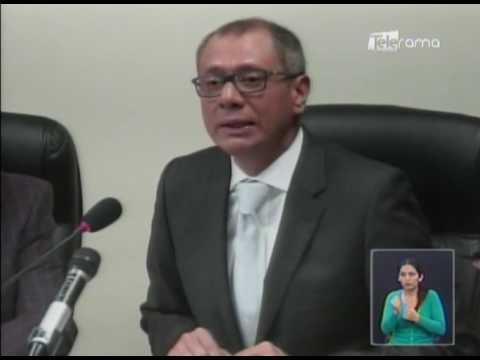 Jorge Glas pide investigación de denuncias por supuesta corrupción