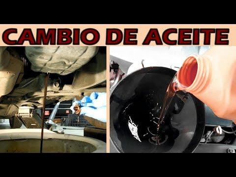 Cambio de Aceite y Filtro de Motor y tips Importantes (muy detallado)