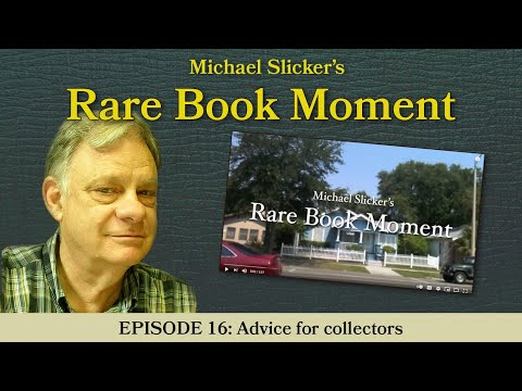 Rare Book Moment 16: Advice for collectors