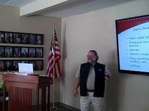 John Moore Teaches Understanding the Mobile Web at the Oceanside Chamber