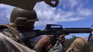 Royal Tongan Marines Marksmanship Training