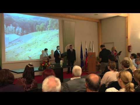 AGRA 2013 Podelitev priznanj Zadružne zveze Slovenije (S-TV Skledar)