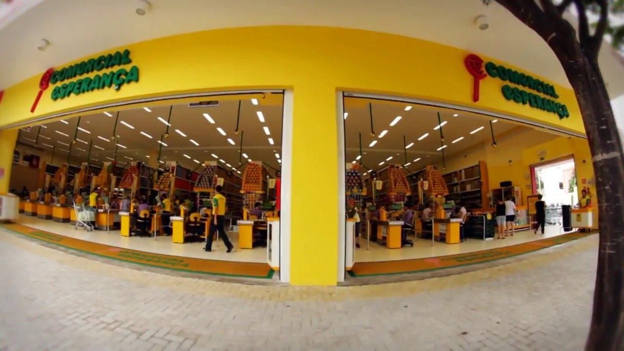 Comercial Supermercado Comercial Esperança - YouTube e8fd0b606b