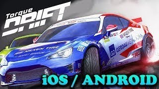 Torque Drift - iOS / Android - FIRST BETA GAMEPLAY