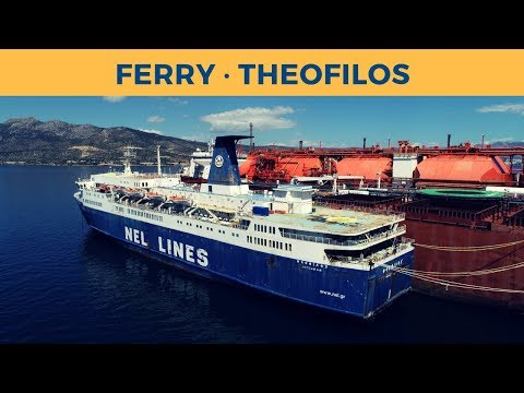 Ferry THEOFILOS in Gulf of Elefsina (a subsidiary of Altana Navigation Ltd.)