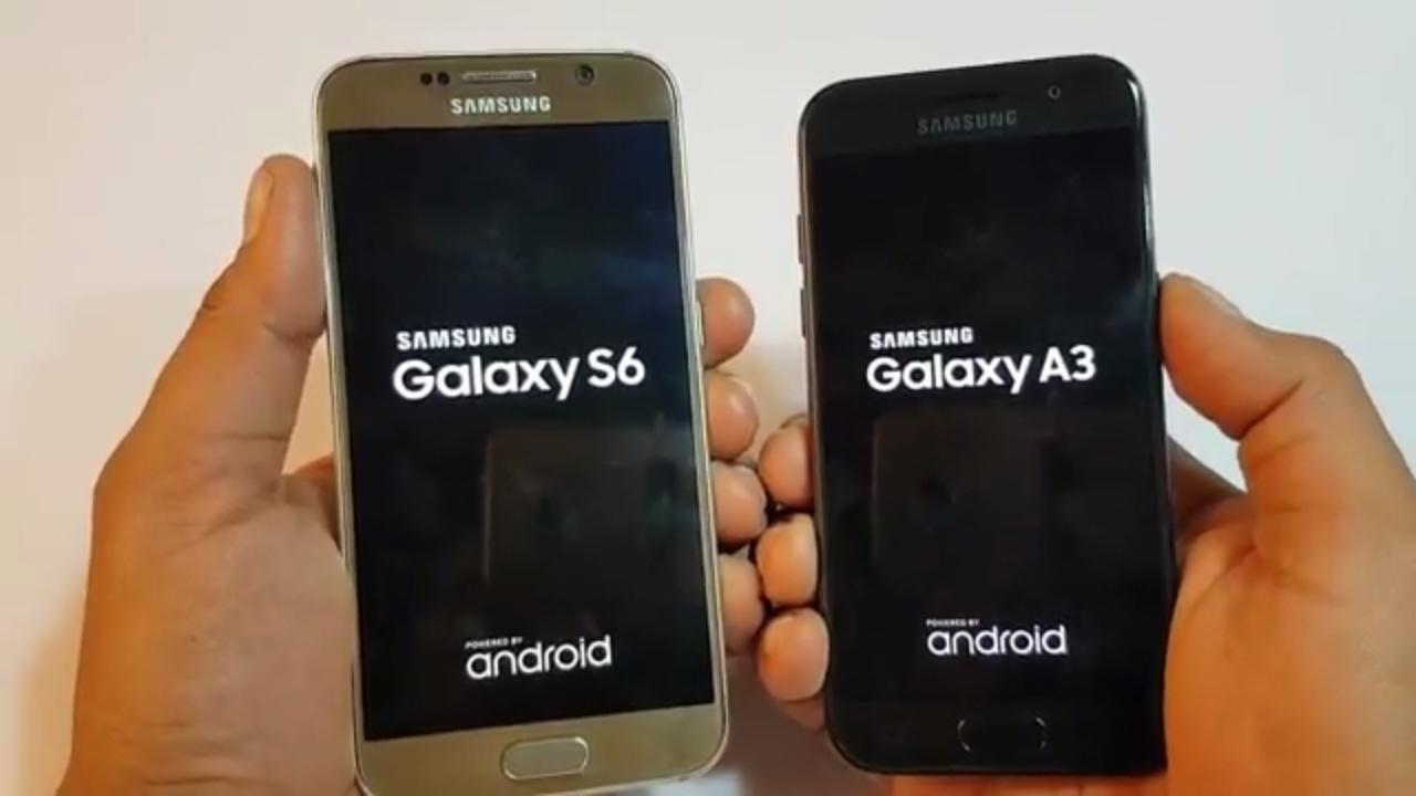 Iphone 6 appareil photo vs samsung a3 20017