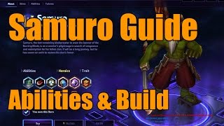 Heroes of the Storm - Samuro Guide - Hero Overview, Abilities, & Build