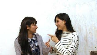 ともに1993年生まれの優愛と優子が、生まれ年に関するクイズに挑戦! は...
