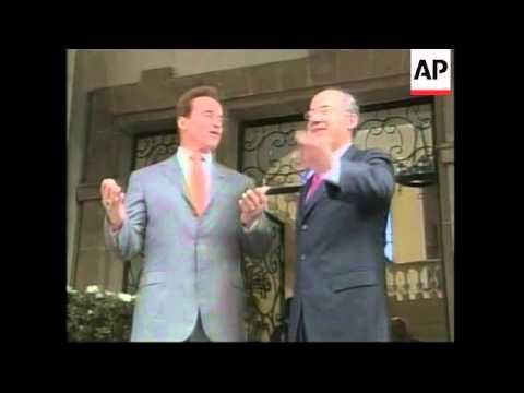 California governor meets president elect Felipe Calderon