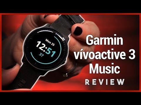 Garmin vívoactive 3 Music Review - GPS Smartwatch with Spotify Mp3
