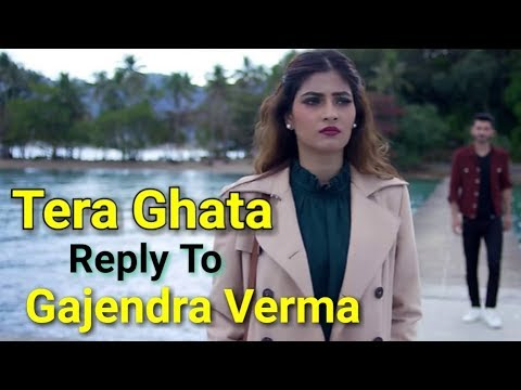 Tera Ghata Reply To Gajendra Verma / Female Version / Full Lyrical Video Song