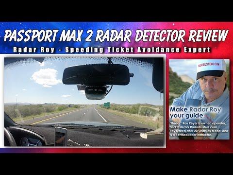 Passport Max2 Radar Detector Review