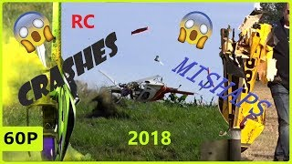 RC CRASH COMPILATION 2018 - HELICOPTER AND PLANES FATAL CRASHES AND MISHAPS #crash
