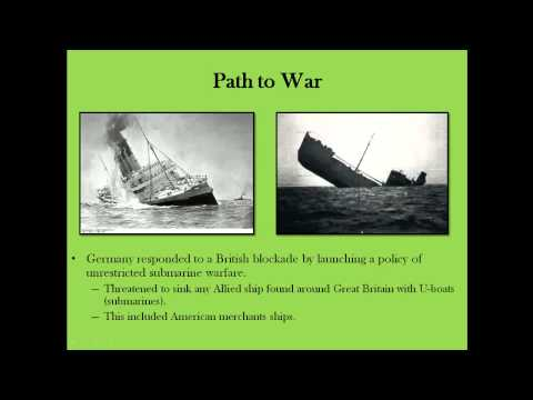 History with Hampson #29: America and the Great War
