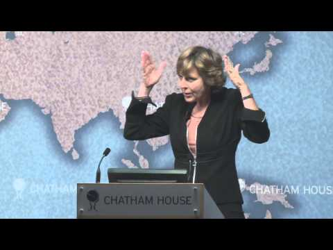 Connie Hedegaard -- Keynote, Chatham House Climate Change Conference 2012