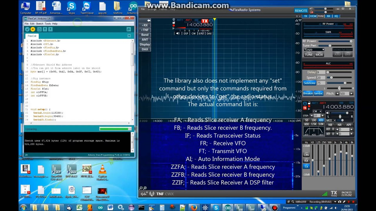 CAT-RS232 Library - IW7DMH - Ham Radio Station