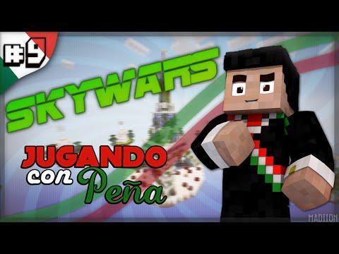 Skywars - Jugando con peña #9- mas pendejo no puedo estar? -CamelotCraft