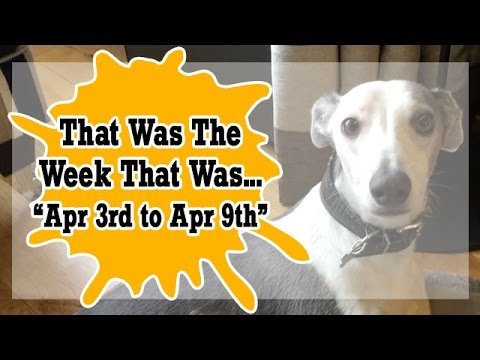 VLOG - That Was The Week That Was Apr 3rd to Apr 9th  2017