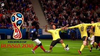 France vs Belgium Semi Final World Cup 2018    FIFA 18 Gameplay    FIFA World Cup Russia 2018