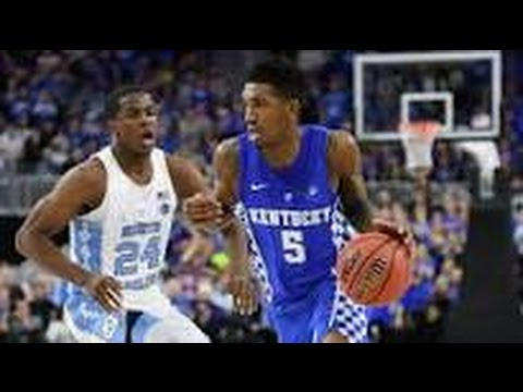 Malik Monk Scores 47 Points vs North Carolina Tarheels (Freshman Record)